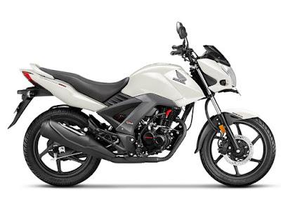 2017 Honda CB Unicorn 160 white hd image