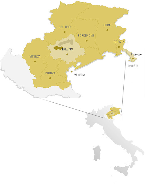 Prosecco wine region