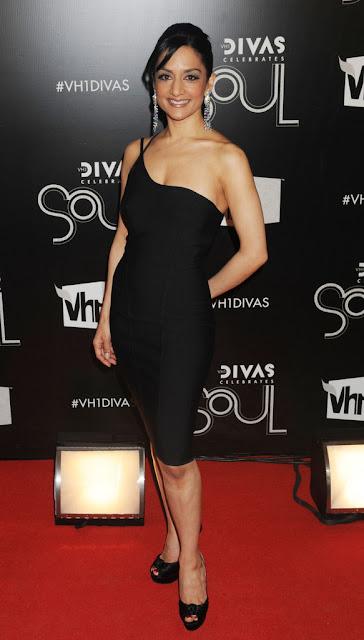 Actress Archie Panjabi Hot Photos In Black Outfit Actress Trend