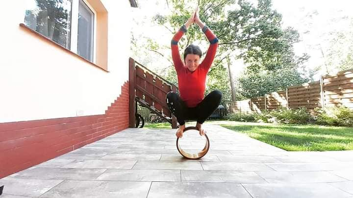 ALT - joga równowaga na kółku