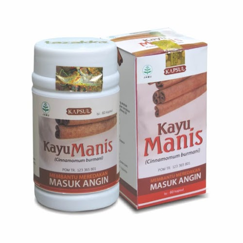Kapsul Kayu Manis Tazakka