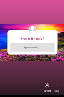 Instagram adds questions sticker