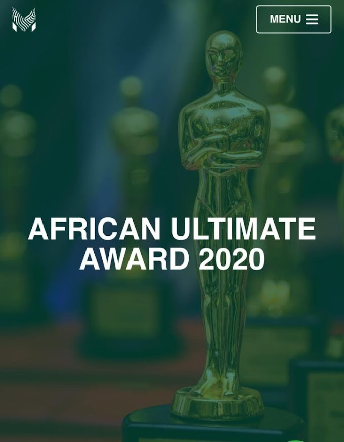 ADUNNI OGE COUTURE WON AFRICA ULTIMATE AWARD As BEST DESIGNER OF THE YEAR 2020
