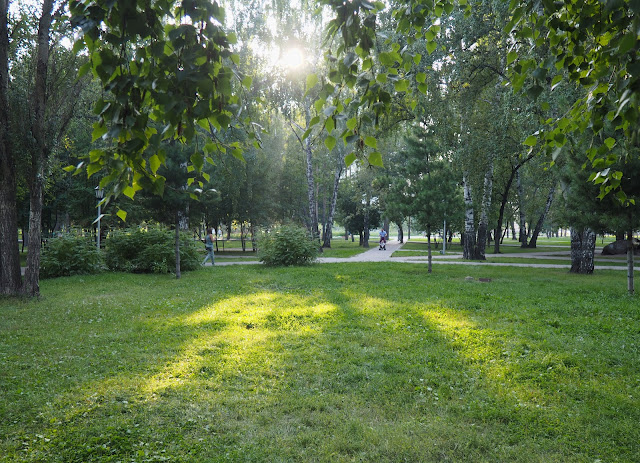 Новосибирск, Нарымский сквер (Novosibirsk, Narymsky park)