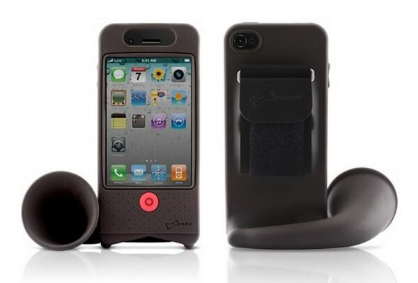 Bone Bike Horn, iPhone 4 Amplifier