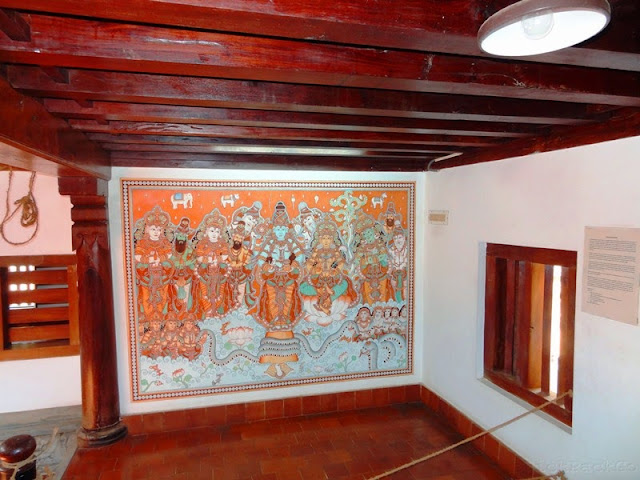 Dakshinachitra - Mural paintings in traditional Kerala House
