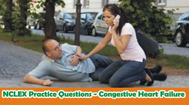 NCLEX Practice Questions - Congestive Heart Failure