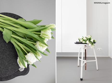 Tulpendeko für den Frühling, ein klassiker.
