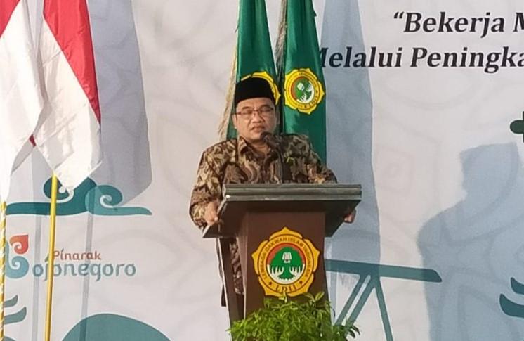 H. Saptoto Priyo Rahardjo, kembali terpilih sebagai Ketua Dewan Pimpinan Daerah Lembaga Dakwah Islam Indonesia (DPD LDII) Kabupaten Bojonegoro