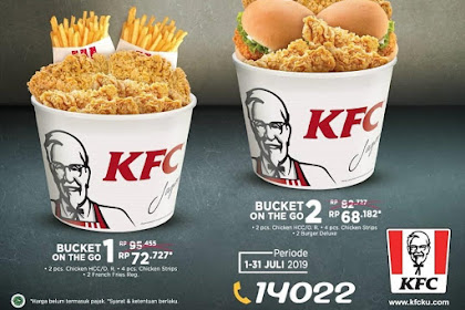 Promo KFC Terbaru Periode 01 - 31 Juli 2019