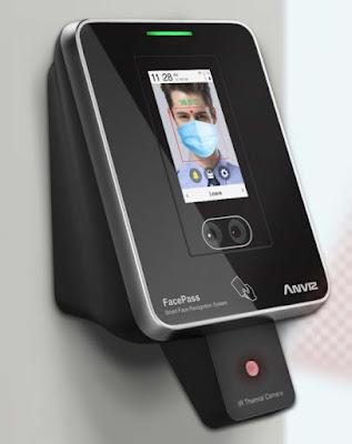 Terminal de control de accesos facial Anviz FacePass 7 IRT