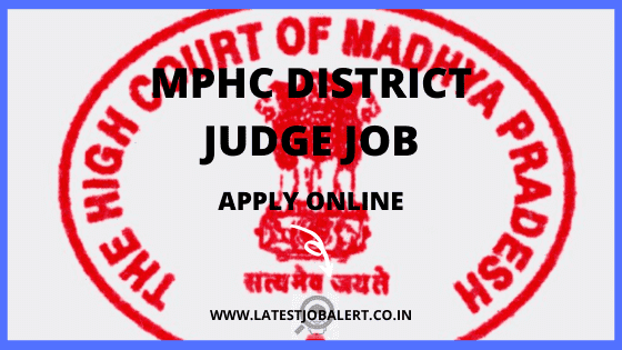 Madhya Pradesh High Court HJS District Judge Recruitment 2020 Online Form|Apply Online