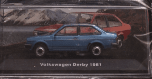 volkswagen derby 1981 deagostini, volkswagen derby 1981 1:43, volkswagen derby 1981, volkswagen offizielle modell sammlung, vw offizielle modell sammlung
