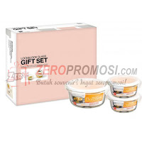 Lock & Lock LLG855SP3 Glass Gift Set