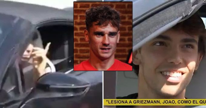 Atletico Madrid Fan asks Joao Felix to 'injure' Griezmann -- Portuguese gives perfect response