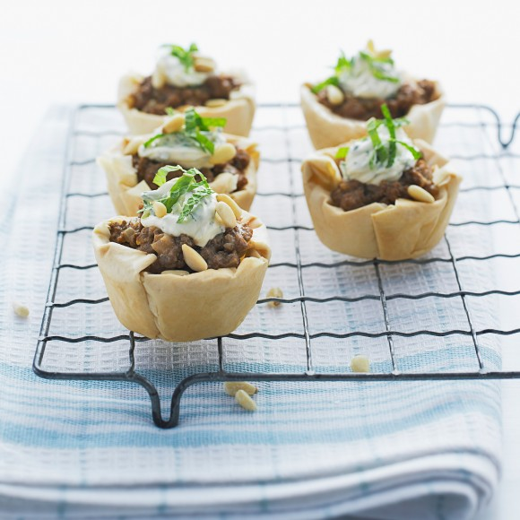 MIDDLE EASTERN LAMB PIES