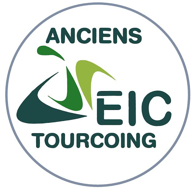 Autocollant Anciens EIC Tourcoing - Ancien Logo