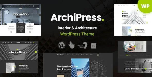 Best Architecture and Interior Design WordPress Theme