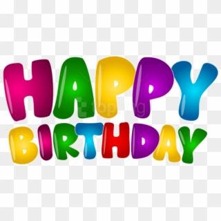Birthday PNG free