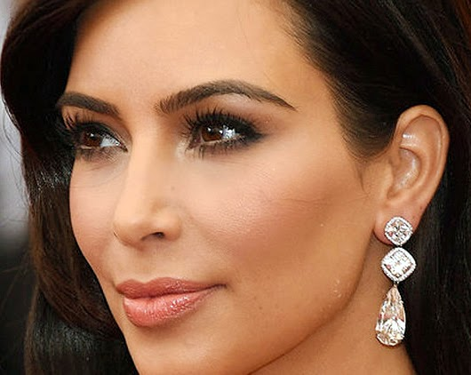 Kim Kardashian Eye Makeup