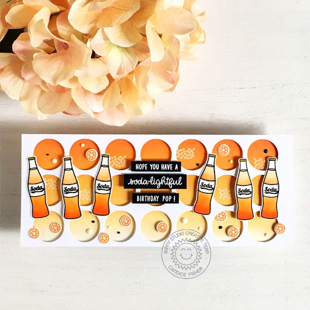 Sunny Studio Stamps: Summer Sweets Birthday Card by Candice Fisher