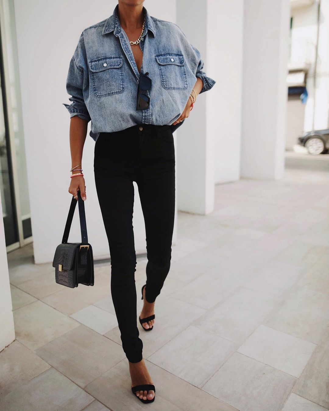 This Outfit Puts a Chic Spin on Casual Basics