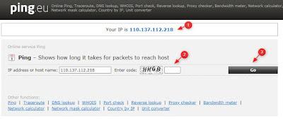 Cara Ping Koneksi Internet di Hp Android