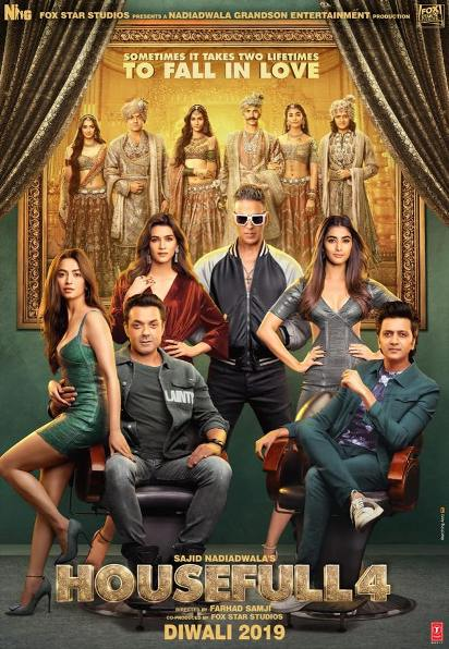 full cast and crew of Bollywood movie Housefull 4 2019 wiki, Akki, Reteish, Housefull 4 story, release date, Housefull 4 Actress name poster, trailer, Video, News, Photos, Wallapper