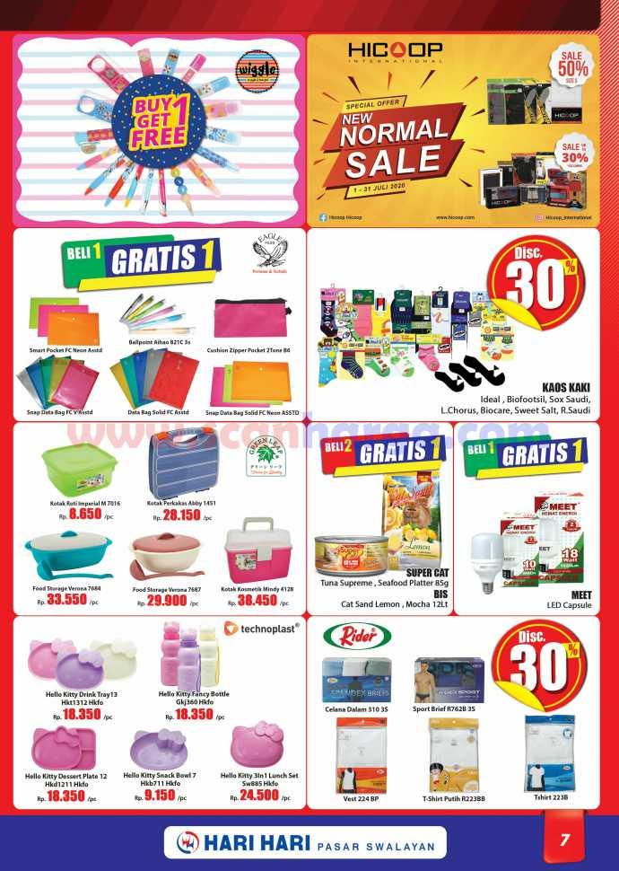 Katalog Promo Hari Hari Pasar Swalayan 9 - 22 Juli 2020 7