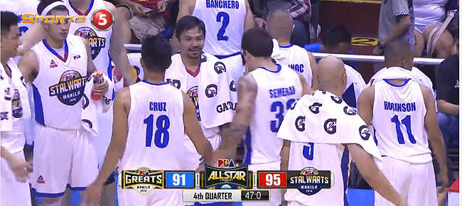 Stalwarts def. Greats, 99-94 (REPLAY VIDEO) PBA All-Star 2016