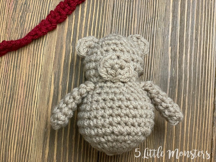 Polar Bear Ornament crochet tree ornament in Santa hat | Etsy | 563x750