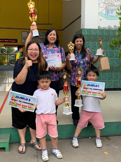 Prestasi Siswa TK Kalam Kudus dalam Lomba TIK