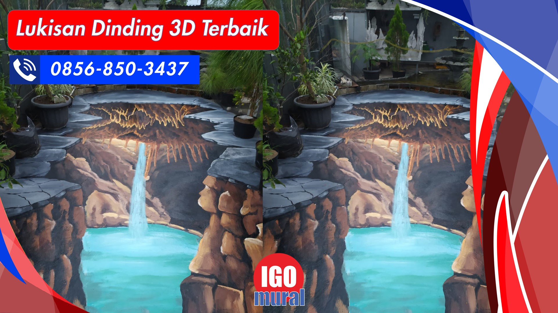 Lukisan Dinding 3D Terbaik