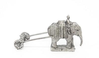 MUB19   Elephant and siege gun limber (1)