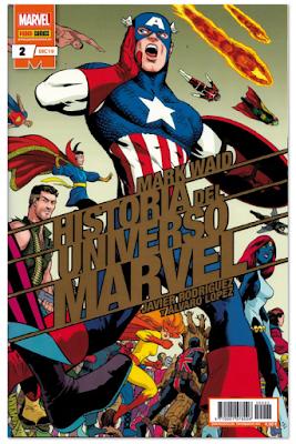 Mark Waid historia del luniverso Marvel dibujado por Javi Rodríguez