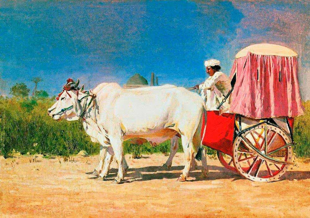 Василий Васильевич Верещагин - Повозка в Дели. 1875