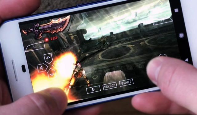 Cara Main Game PPSSPP di Android