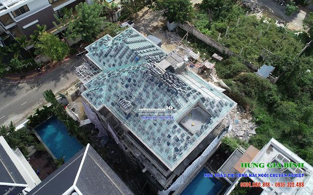 Thi công lợp mái ngói tại Đà Nẵng - Hội An
