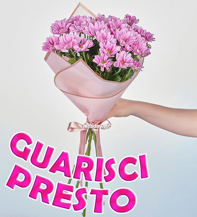 Floreale Guarisci Presto Messaggi
