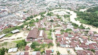 FOTO : Potret Memilukan Kota Medan Hari Ini Diterpa Banjir