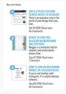 Cara Mempercantik Blog Dengan Widget Artikel Terbaru