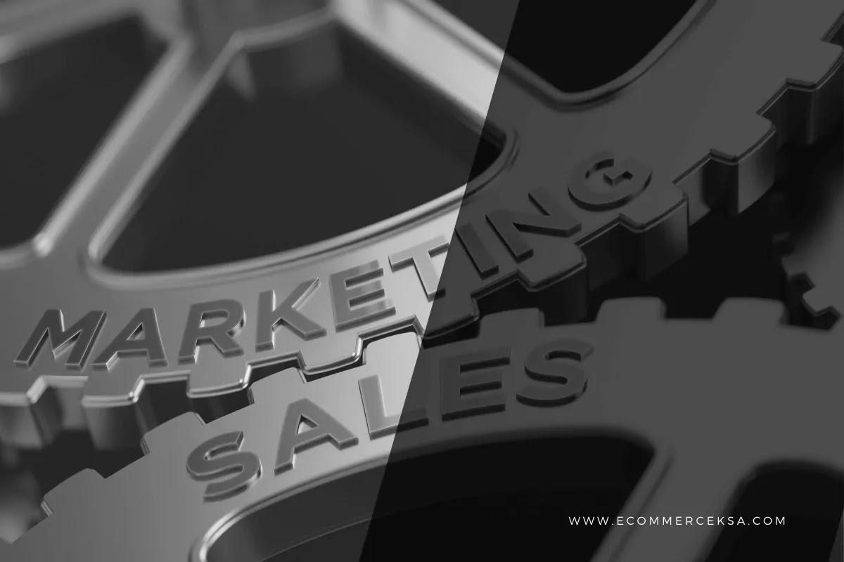 الفرق بين التسويق والمبيعات
