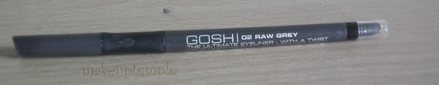 Gosh Ultimate Eye Liner 02 Raw Gray Swatches