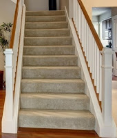 Image of a home stairway that can be used for workouts