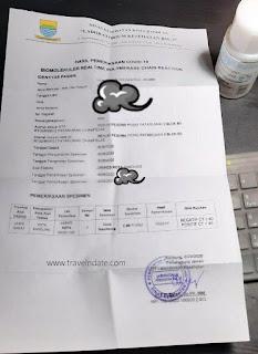 Sharing pengalaman rapid dan swab test untuk traveling yaitu prosedur, harga dan biaya di Bandung. Juga info rapid test di stasiun kereta dan bandara