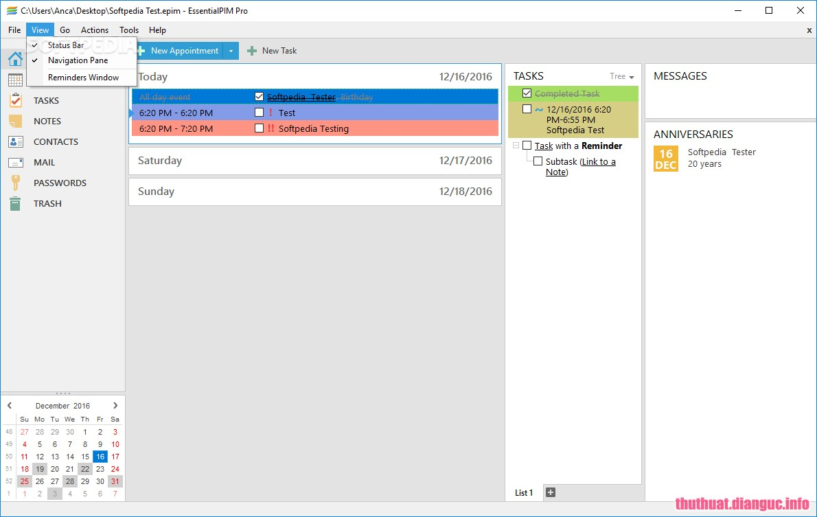 Download EssentialPIM Pro 8.0 Full Cr@ck – Phần mềm quản lý thông tin cá nhân