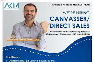 Lowongan Kerja Bandung Canvasser PT. AKM