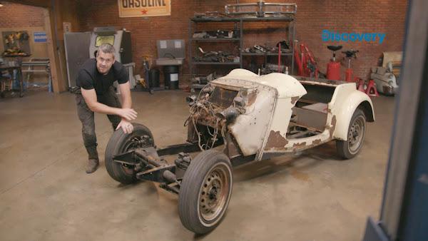 結束電視節目拍攝,安特一刻也閒不下來,立即著手打造自己的夢想車。