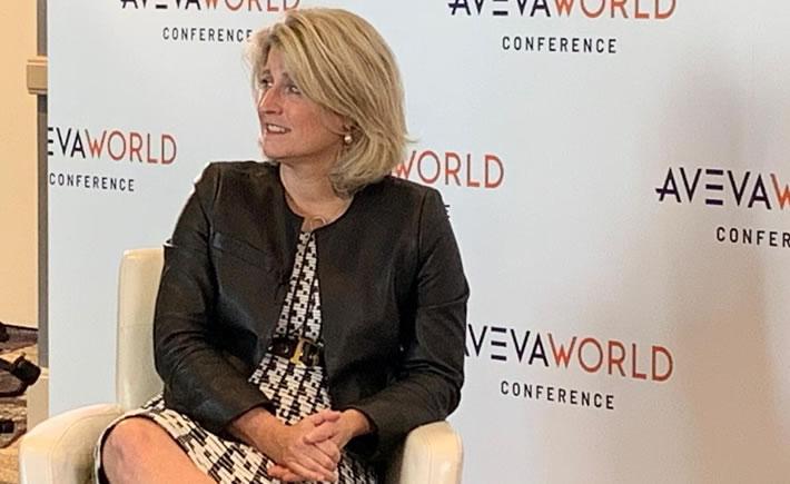 Lisa Bodell, fundadora y CEO de la empresa de innovación Futurethink, durante su ponencia en el evento Aveva World Conference (AWC) 2019. (Foto: Cortesía)