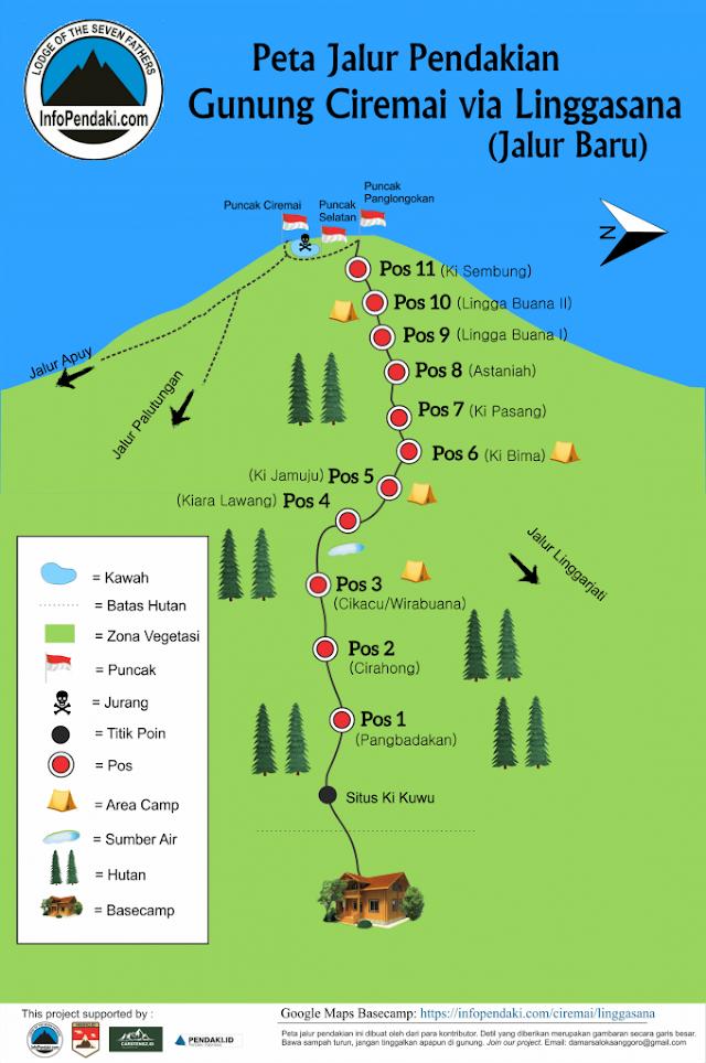 Porter Ciremai, Pendakian Gunung Ciremai via Jalur Baru Linggasana